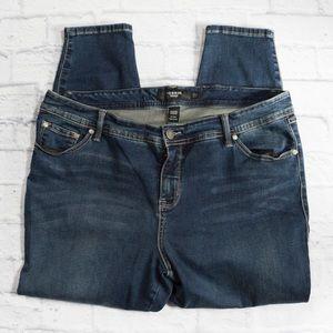 TORRID medium wash skinny jeans SZ 20 Short